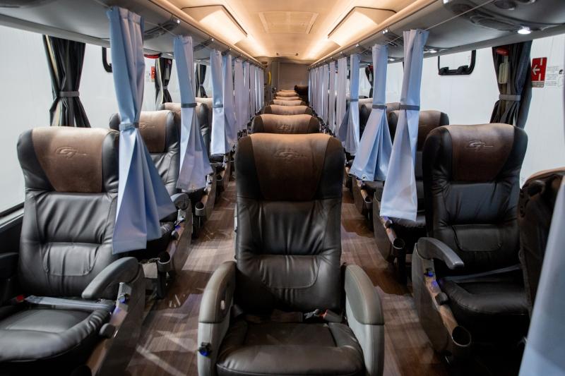 Ônibus 'anticoronavírus' começa a rodar no Rio Grande do Sul