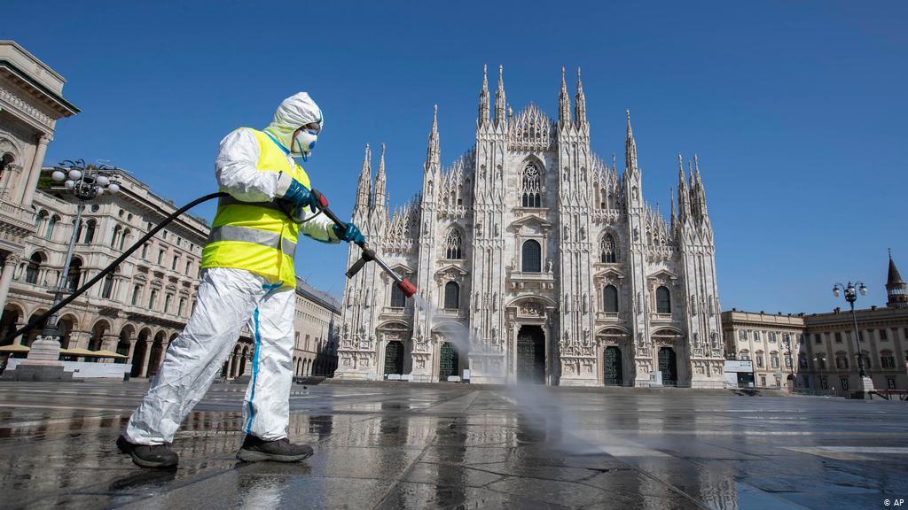 Pandemia: Itália é exceção na Europa com segunda onda de Covid-19