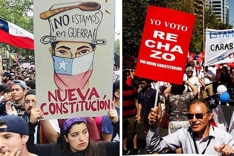 Chile aprova plebiscito histórico para mudança da Constituição